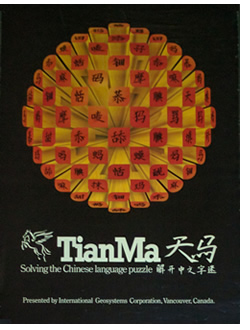 TianMa poster - circa 1985 - personal collection