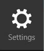 Win8 settings icon